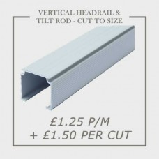 Vertical Rail & Tilt Rod Cut To Size