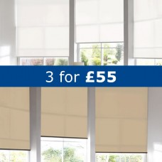 3 Roller Blinds £55.00 + VAT