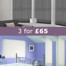 3 Vertical Blinds £65.00 + VAT